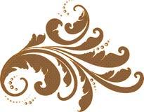 Emblema d'annata Fotografie Stock