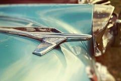 Emblema d'annata dell'automobile Fotografia Stock Libera da Diritti