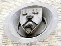 Emblema 2016 da construção principal da universidade de Toronto Fotos de Stock Royalty Free