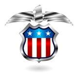 Emblema da fantasia dos E.U. Imagens de Stock