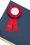 Emblema das fitas do certificado e da concessão fotos de stock royalty free