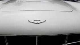 Emblema de Aston Martin en modelo raro Fotografía de archivo libre de regalías