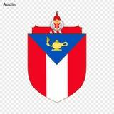 Emblema de Austin ilustración del vector