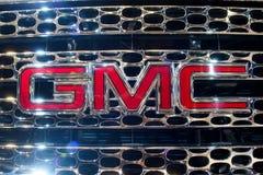 Emblema de GMC Foto de archivo libre de regalías