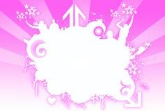 Emblema de Grunge Ilustração Stock