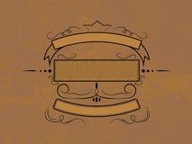 Emblema de Grunge ilustração do vetor
