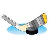 Emblema de IcehHockey. Imagen de archivo