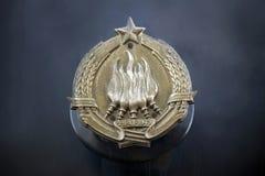 Emblema de Jugoslávia fotografia de stock