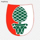 Emblema de la ciudad de Alemania ilustración del vector