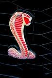 Emblema de la cobra de Shelby del mustango de Ford fotografía de archivo libre de regalías