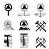 Emblema de la geología libre illustration
