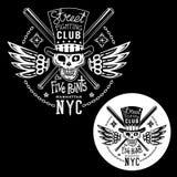 Emblema de la lucha de la calle Imagen de archivo