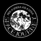 Emblema de la luna Fotos de archivo