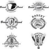 Emblema de la panadería Imagenes de archivo
