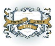 Emblema de la vendimia Foto de archivo