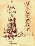 Emblema de la vendimia Fotos de archivo