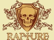 Emblema de la vendimia Imagen de archivo libre de regalías
