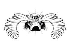 Emblema de la vendimia stock de ilustración