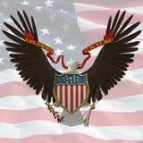 Emblema de los E.E.U.U. Foto de archivo libre de regalías