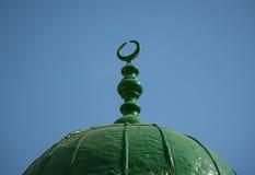 Emblema de musulmanes Fotografía de archivo
