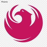 Emblema de Phoenix ilustração do vetor