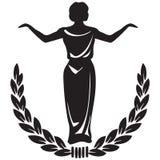 Emblema de teatro Imagen de archivo