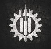 Emblema de troca abstrato fotografia de stock royalty free