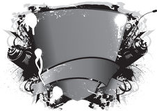Emblema dei graffiti Immagine Stock