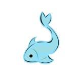 Emblema dei pesci Fotografie Stock