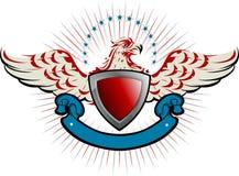Emblema del águila Imágenes de archivo libres de regalías