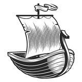 Emblema del barco Imagen de archivo libre de regalías