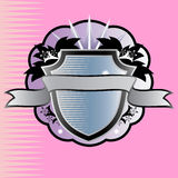 Emblema del blindaje. Fotos de archivo