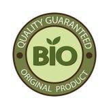 Emblema del círculo bio Producto original Calidad garantizada libre illustration