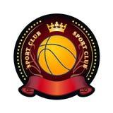 Emblema del club de deporte Fotos de archivo libres de regalías