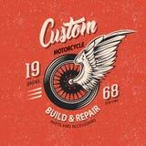 Emblema del club del motociclo Immagine Stock Libera da Diritti