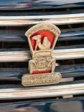 Emblema del club di Israel Classic Vehicle - club 5 allegato all'automobile Immagine Stock