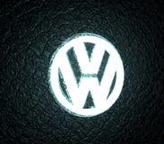 Emblema del coche de Volkswagen ilustración del vector