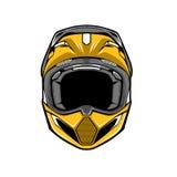 Emblema del deporte del motocrós Imagenes de archivo