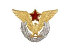 Emblema del ejército Fotografía de archivo