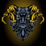 Emblema del ferro dell'Ariete royalty illustrazione gratis