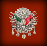 Emblema del imperio otomano, y x28; Viejo símbolo turco y x29; Foto de archivo