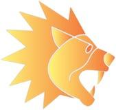 Emblema del león Fotografía de archivo