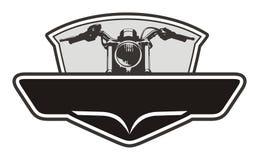 Emblema del motociclo Fotografia Stock Libera da Diritti