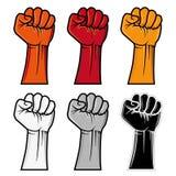 emblema del pugno Immagine Stock Libera da Diritti