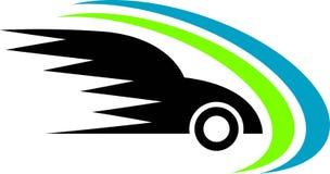 Emblema del recorrido ilustración del vector