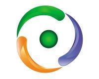 Emblema del segno Fotografia Stock Libera da Diritti