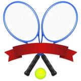 Emblema del tenis ilustración del vector