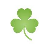 Emblema del trifoglio, decorazioni per la festa di St Patrick s illustrazione vettoriale