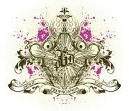 Emblema del vector Fotografía de archivo