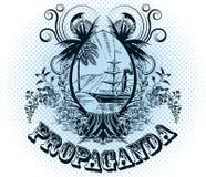 Emblema del vector Imagen de archivo